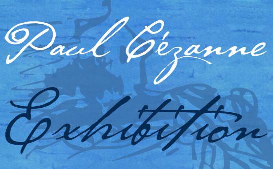 P22 Cezanne font sample