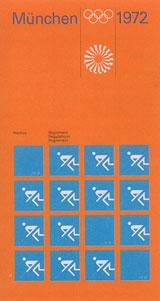 Univers wurde als Corporateschrift bei den Olympischen Spielen 1972 in München eingesetzt