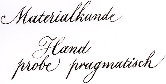 """Libelle """"Materialkunde"""""""