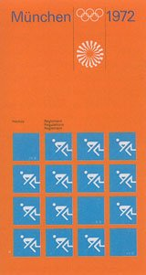 Univers was the corporate font for the Olympic Games in Munich in 1972