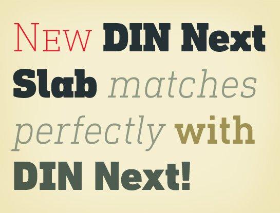 DIN Next Slab
